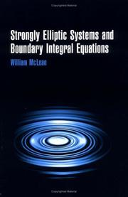 Cover of: Strongly elliptic systems and boundary integral equations