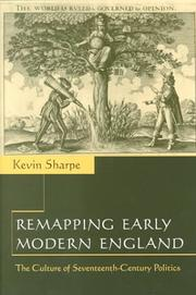Cover of: Remapping Early Modern England | Kevin Sharpe