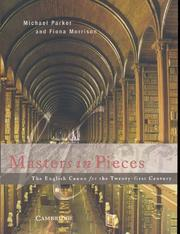 Cover of: Masters in Pieces | Michael Parker