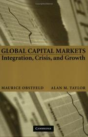 Cover of: Global Capital Markets | Maurice Obstfeld