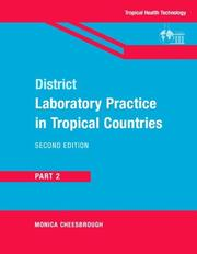 Cover of: District Laboratory Practice in Tropical Countries, Part 2
