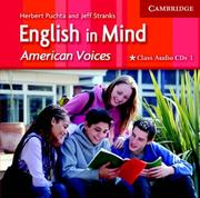 Cover of: English in Mind 1 Class Audio CDs American Voices Edition | Herbert Puchta