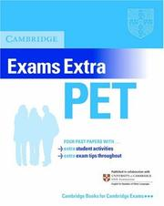 Cover of: Cambridge Exams Extra PET Student's Book (PET Practice Tests)