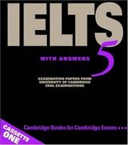 Cover of: Cambridge IELTS 5 Audio Cassettes (IELTS Practice Tests)