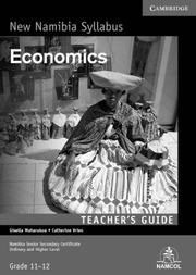NSSC Economics Teacher's Guide by Gisella Muharukua, Catherine Vries