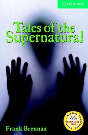Cover of: Tales of the Supernatural Book and Audio CD Pack