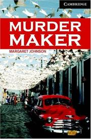 Cover of: Murder Maker Book and Audio CD Pack