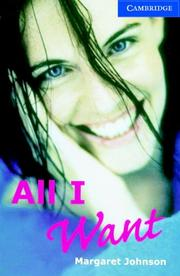 Cover of: All I Want Book and Audio CD Pack