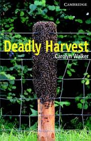 Cover of: Deadly Harvest Book and Audio CD Pack | Carolyn Walker