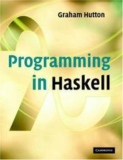 Cover of: Programming in Haskell
