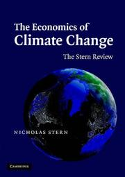 Cover of: The Economics of Climate Change | Nicholas Stern