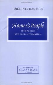 Cover of: Homer's people