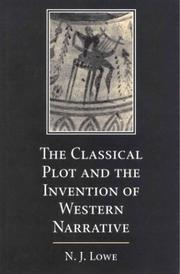 Cover of: The Classical Plot and the Invention of Western Narrative