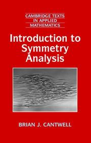 Introduction to Symmetry Analysis (With CD-ROM)