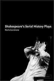 Cover of: Shakespeare's Serial History Plays