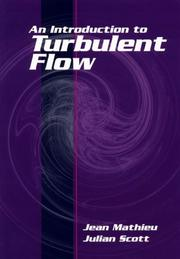 Cover of: An introduction to turbulent flow
