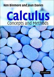 Cover of: Calculus | Ken Binmore