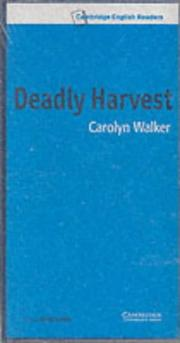 Cover of: Deadly Harvest Audio Cassette Set |