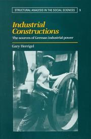 Cover of: Industrial Constructions