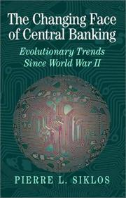 Cover of: The Changing Face of Central Banking
