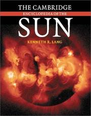 Cover of: The Cambridge Encyclopedia of the Sun | Kenneth R. Lang