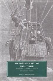 Cover of: Victorian writing about risk