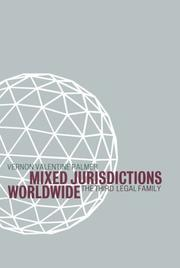 Cover of: Mixed jurisdictions worldwide | Vernon V. Palmer