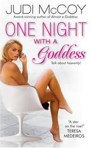Cover of: One Night With a Goddess | Judi Mccoy