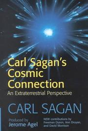 Cover of: Carl Sagan's cosmic connection: an extraterrestrial perspective