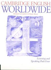 Cover of: Cambridge English Worldwide Listening and Speaking Pack 4 (Cambridge English for Schools) | Andrew Littlejohn