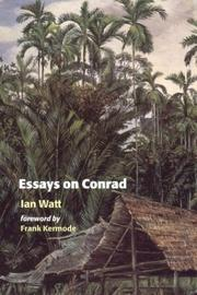 Cover of: Essays on Conrad