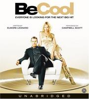 Cover of: Be Cool CD