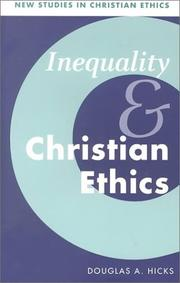 Cover of: Inequality and Christian ethics