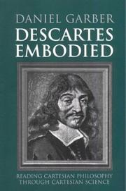 Cover of: Descartes Embodied | Daniel Garber