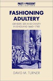 Cover of: Fashioning Adultery | David M. Turner