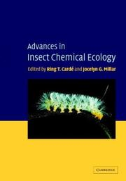 Cover of: Advances in Insect Chemical Ecology |
