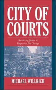 Cover of: City of courts