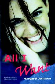 Cover of: All I Want