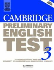 Cover of: Cambridge Preliminary English Test 3 Student's Book