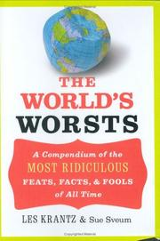 Cover of: The world's worsts