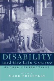 Cover of: Disability and the Life Course