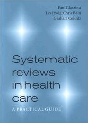 Cover of: Systematic Reviews in Health Care | Paul Glasziou