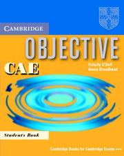 Objective CAE Students Book
