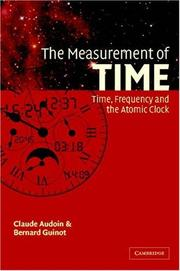The Measurement of Time by Claude Audoin, Bernard Guinot