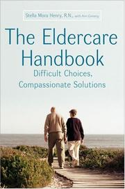 Cover of: The Eldercare Handbook | Stella Henry