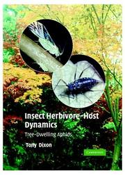 Cover of: Insect herbivore-host dynamics