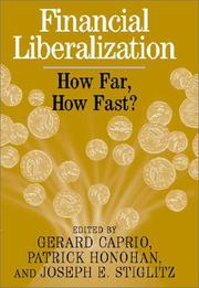 Cover of: Financial Liberalization