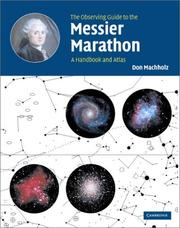 Cover of: The Observing Guide to the Messier Marathon | Don Machholz