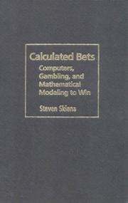 Cover of: Calculated Bets