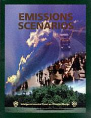 Cover of: Special report on emissions scenarios |
